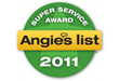 Dalworth Rug Cleaning was Awarded Angie's List Super Service Award 2011 | Dalworth Rug Cleaning