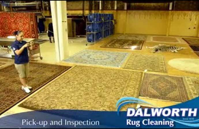 Dalworth Rug Cleaning's Oriental / Persian Rug Cleaning Method YouTube Thumb