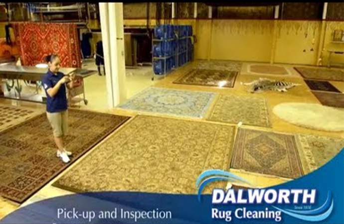 Dalworth Rug Cleaning's Oriental / Persian Rug Cleaning Method Video Thumb
