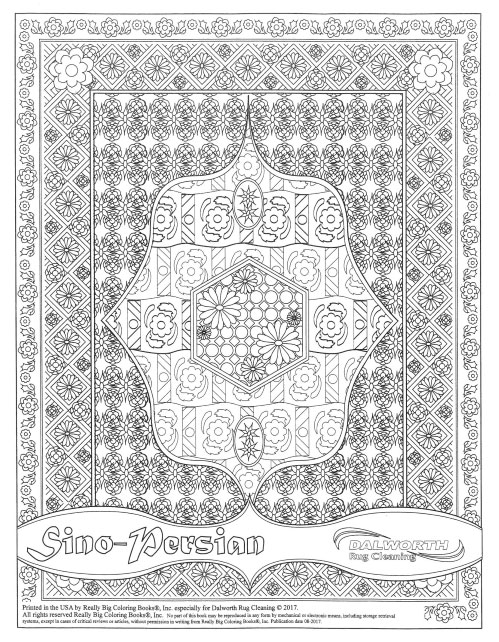 Dalworth Rug Cleaning Coloring Book Page 2