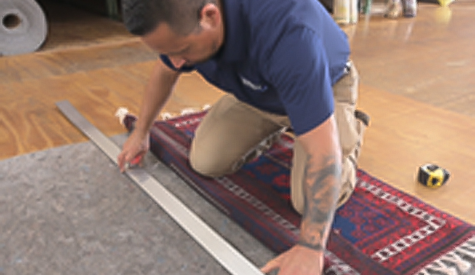 Cutting a Custom Rug Pad