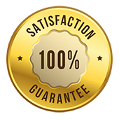 an image of Satisfaction Guarantee Badge