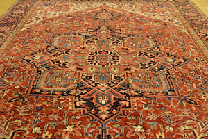 persian area rug cleaned by dalworth