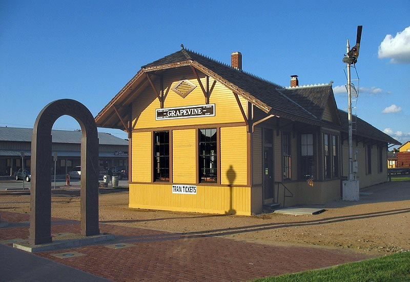 The Grapevine Depot in Grapevine, Texas