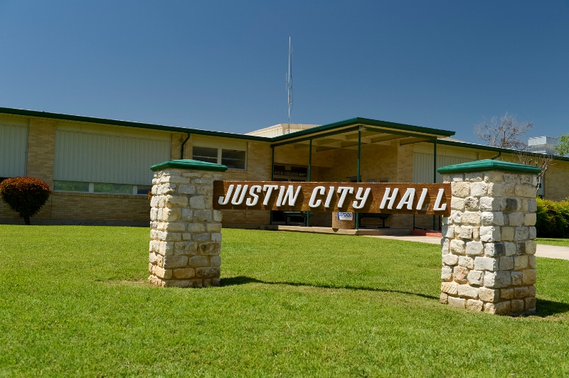 City Hall of Justin, Texas