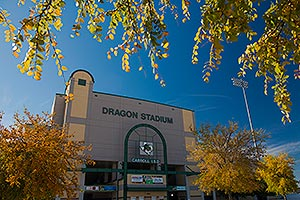 The Southlake Carroll Dragons Stadium.