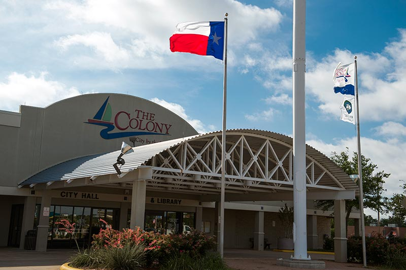The Colony city hall in Texas