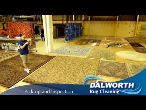 Dalworth Rug Cleaning's Oriental / Persian Rug Cleaning Method